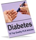 Diabetes PLR articles for you