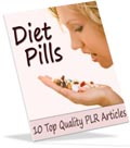 Diet Pills PLR articles