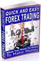 Forex PLR ebook for your site