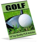 Golf PLR articles