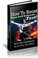 Self Esteem PLR ebook for your site