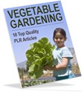 Vegetable Gardening PLR articles