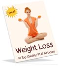 free weight loss PLR articles